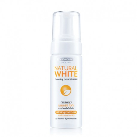 Dr. Somchai Natural White Foaming Facial Cleanser