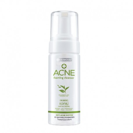 Dr. Somchai ACNE Foaming Facial Cleanser with Green Tea